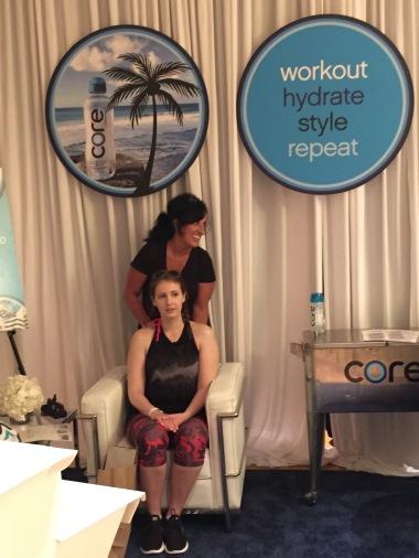 Massages courtesy of Core
